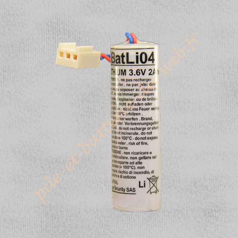 BATLI04 Pile Logisty 3,6v 2Ah