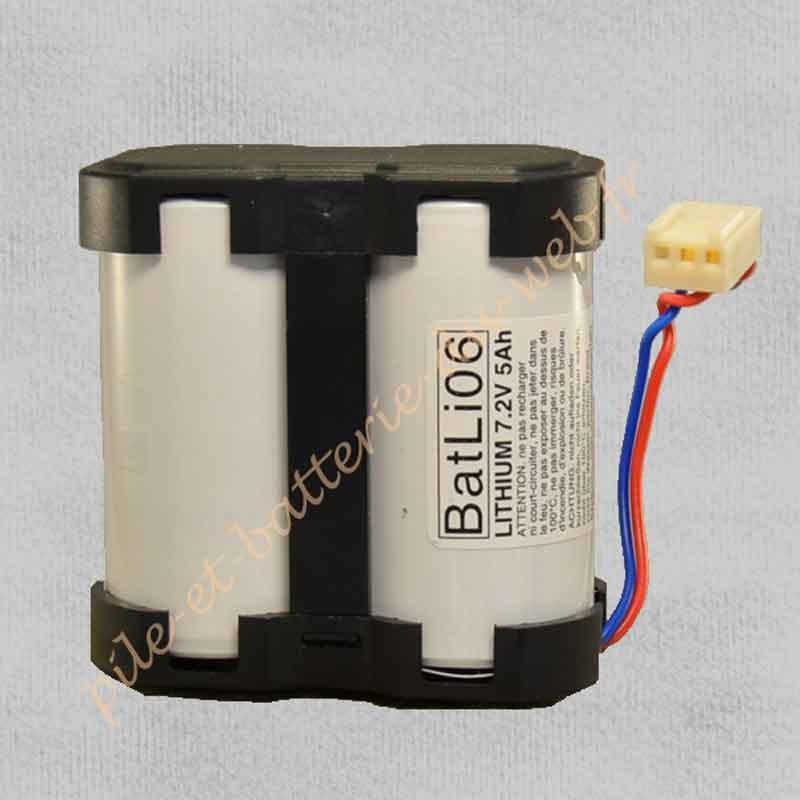 BATLI 06 Pile Lithium Logisty 7,2 v 5 Ah