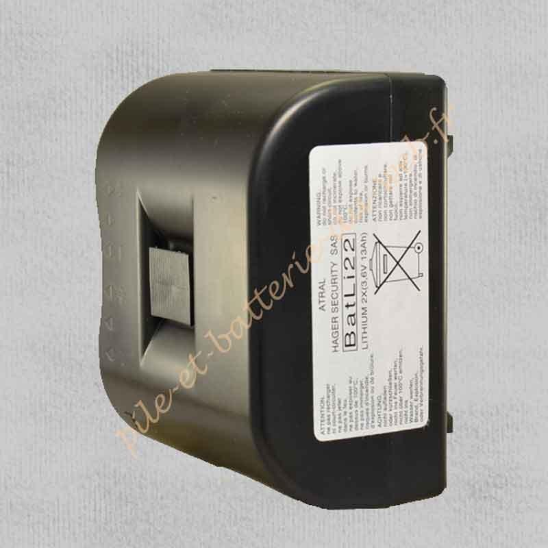 BATLI 22 Pile Lithium Hager 3,6 v 13Ah