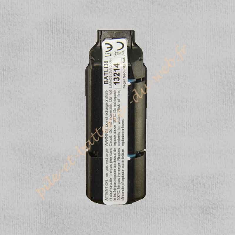 BATLI38 Pile Lithium Logisty Hager