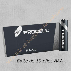 Pile alarme Diagral Duracell Procell AAA