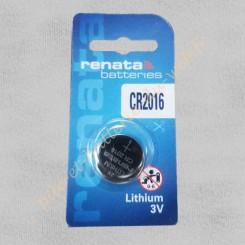 Pile Lithium 3 volts Renata CR2016