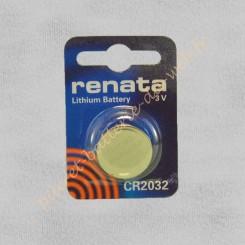 Pile Lithium CR2032 Renata...