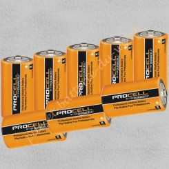 Lot de 8 piles alcalines Duracell Procell Industrial