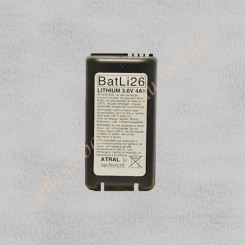 BATLI26 Pile Lithium 3.6v 4Ah LOgisty Hager